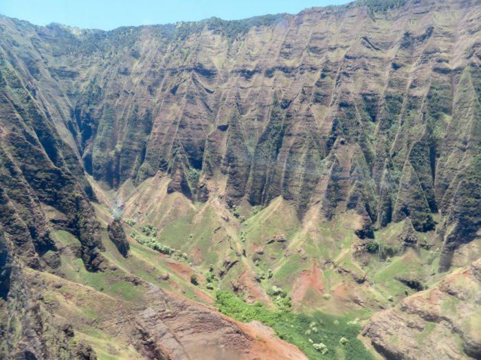 Kauai vanuit helikopter