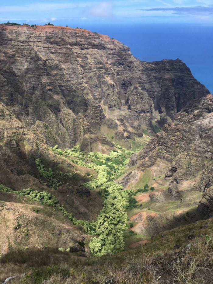 Kloof in kauai