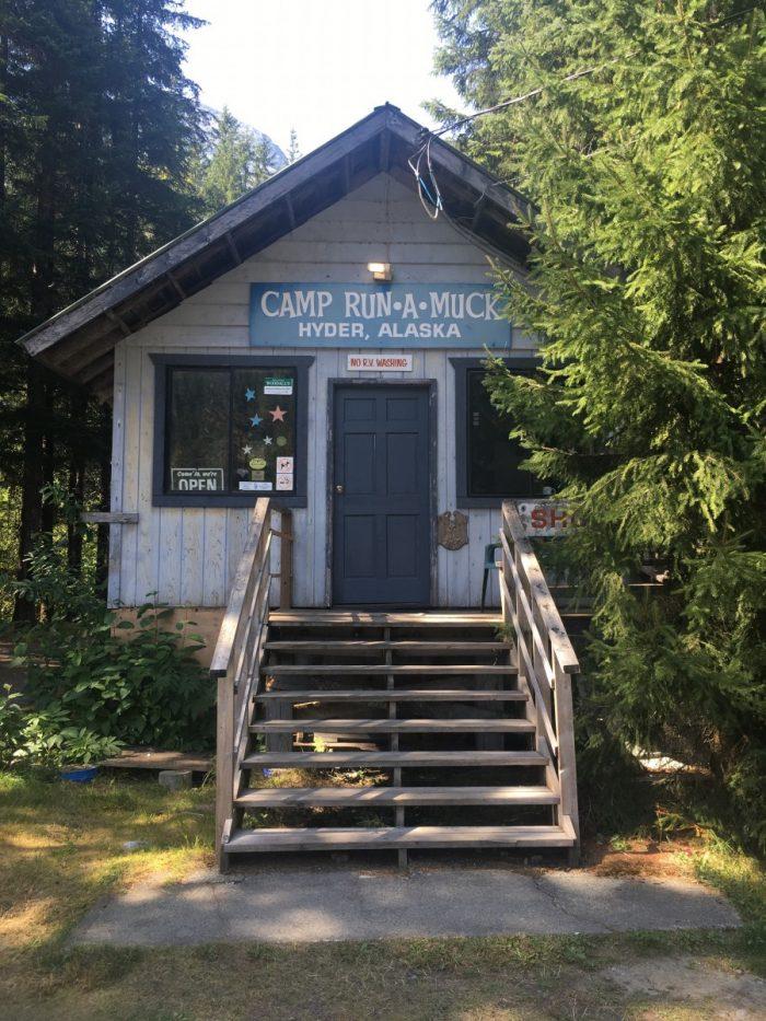 Camping run a muck