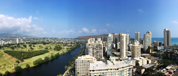 skyline Honolulu