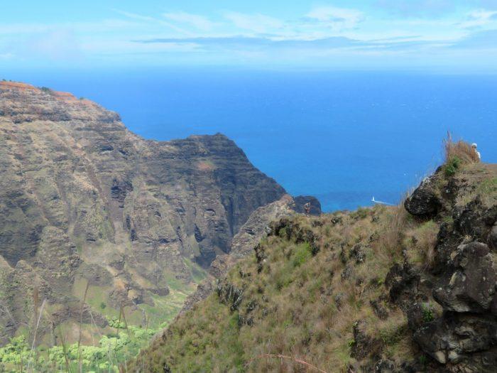 uitzicht na Awa'awapuhi Trail