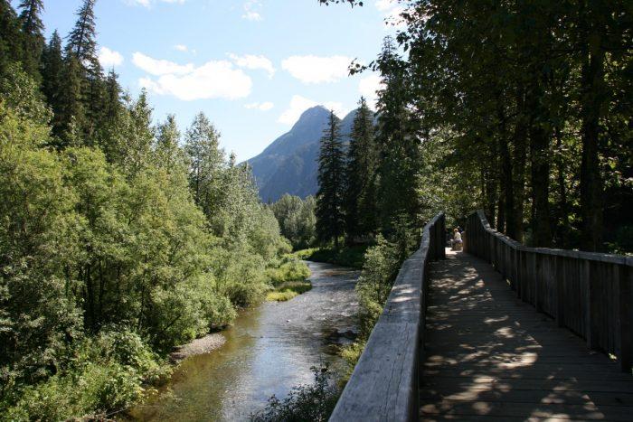 fish creek boardwalk