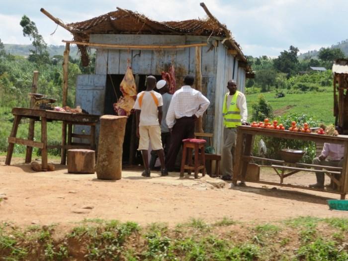 slager in Oeganda