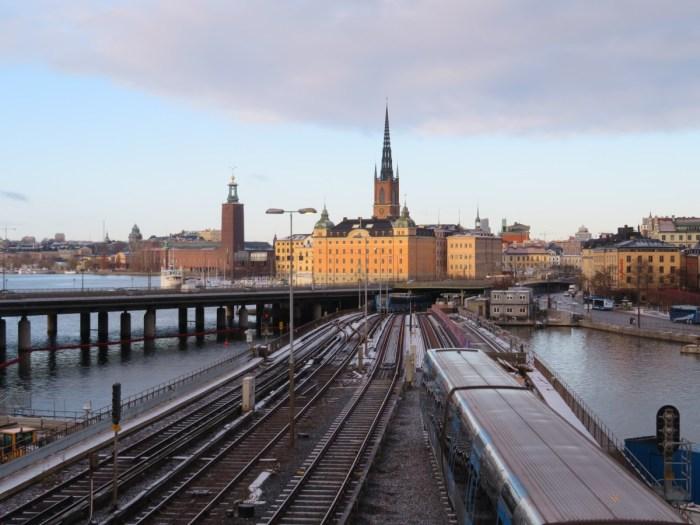 stadsgezicht van Stockholm