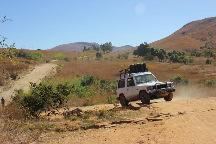 4x4 route naar Andringitra NP