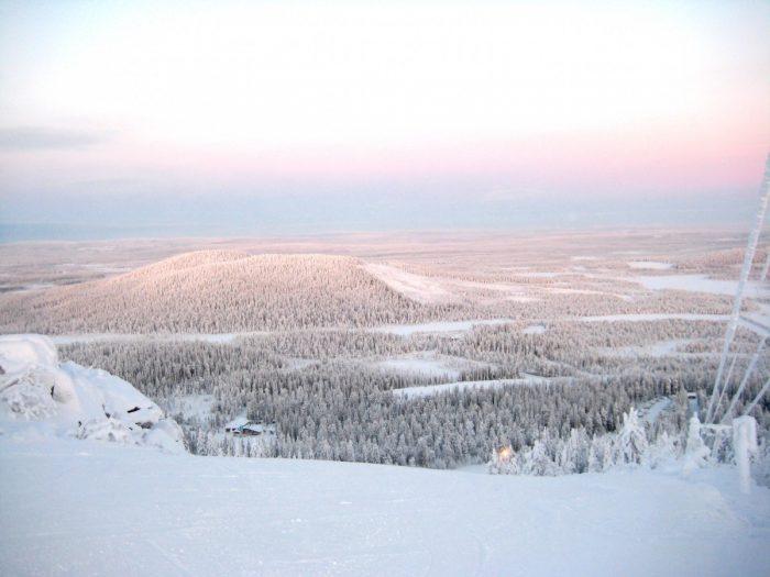 uitzicht over iso Syote