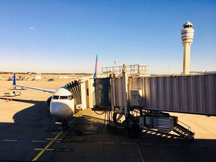 Het vliegtuig naar Mexico