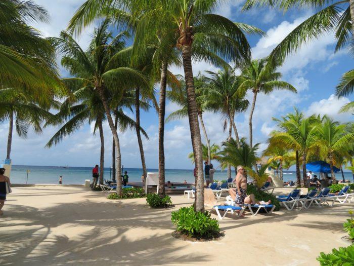 Strand op Cozumel