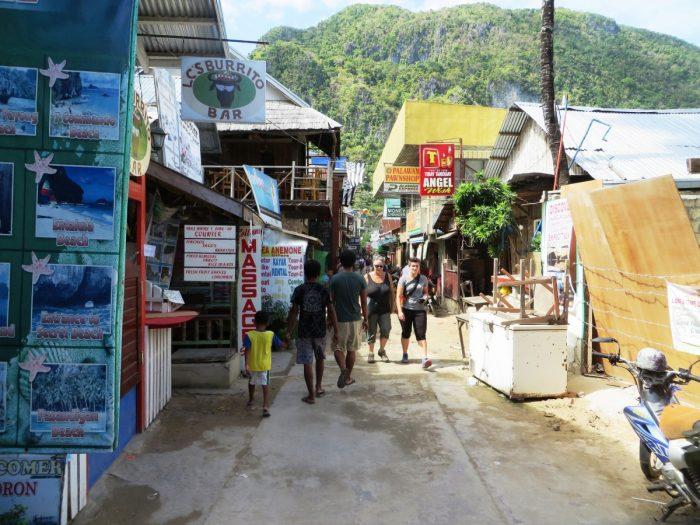 El Nido - niet het mooiste dorp