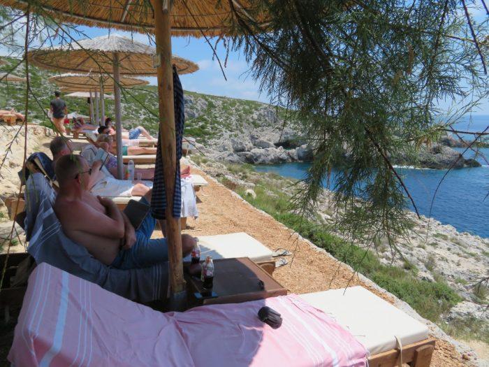 relaxen bij porto limnionas