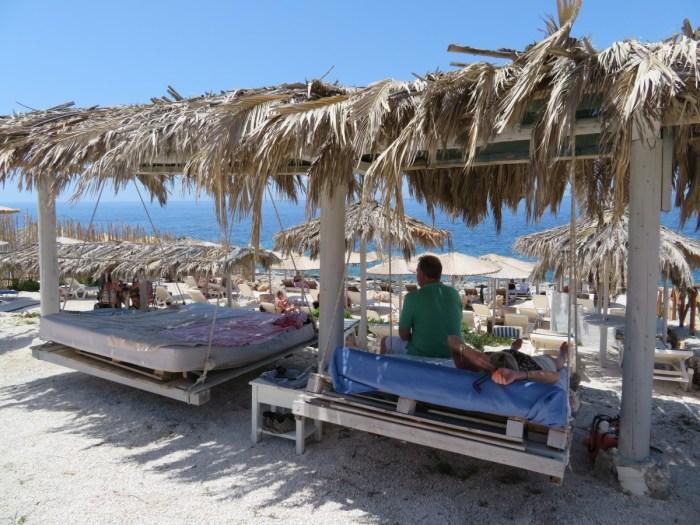 luie vakantie op Zakynthos