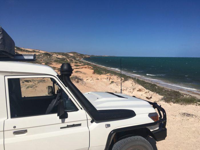 Jeep met daktent