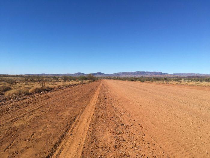 eindeloze wegen in Australië