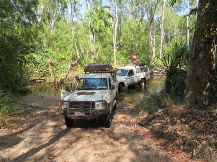 4WD met daktent australie