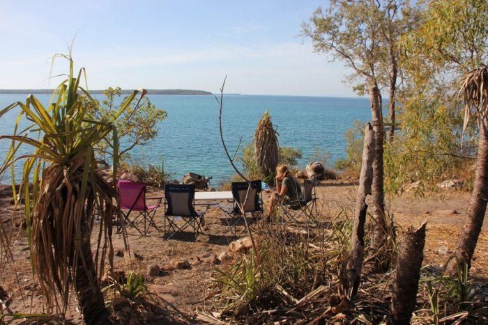 kamperen aan de kust