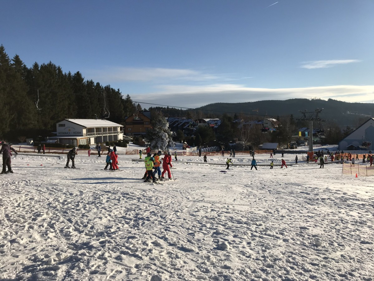wintersport Lipnomeer Tsjechië