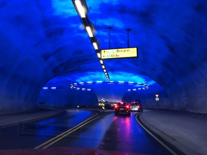 ondergrondse rotonde