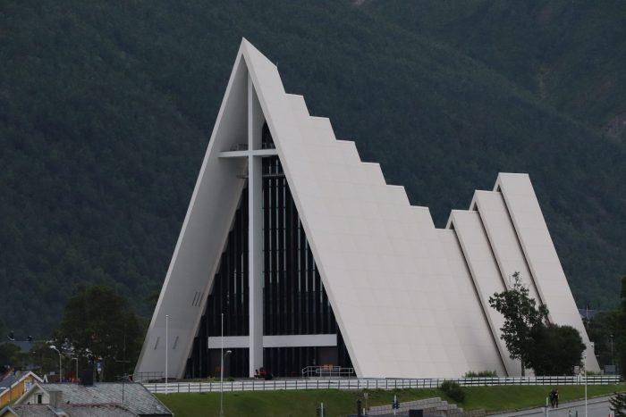 arctische kathedraal Tromsø
