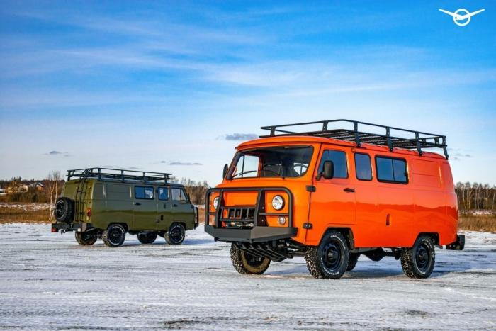 UAZ Bukhanka expeditie