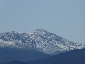 Closeup of Mt. Washington