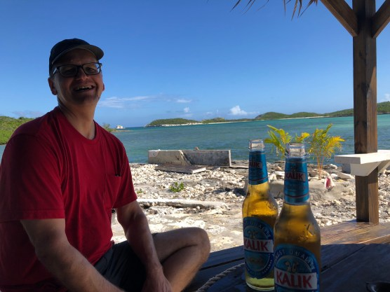 yes we have the beer with a view