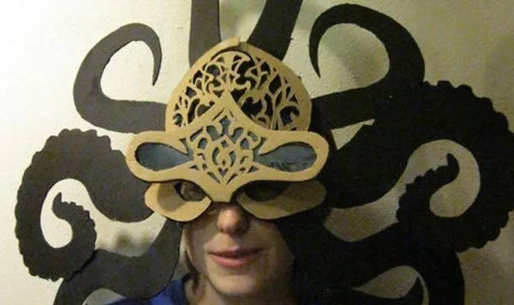 Octopus Mask by Onyx Ibex
