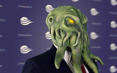"Cthulhu flays ""lesser evils"" at press conference"