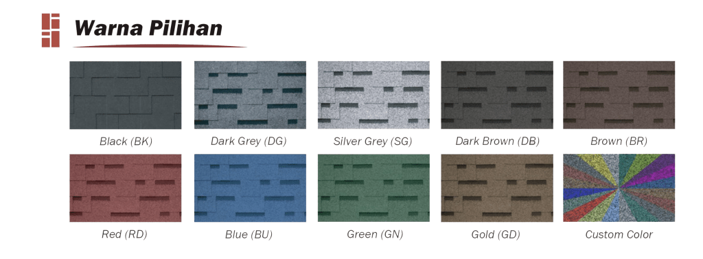 CT5 EUROPAN ASPHALT SHINGLE
