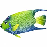 pool mosaics tropical fish mosaics