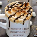Smores-Hot-Chocolate recipe