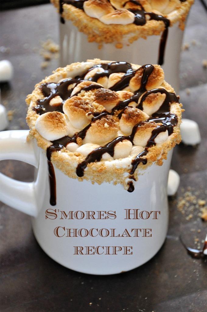 Smores-Hot-Chocolate recipe