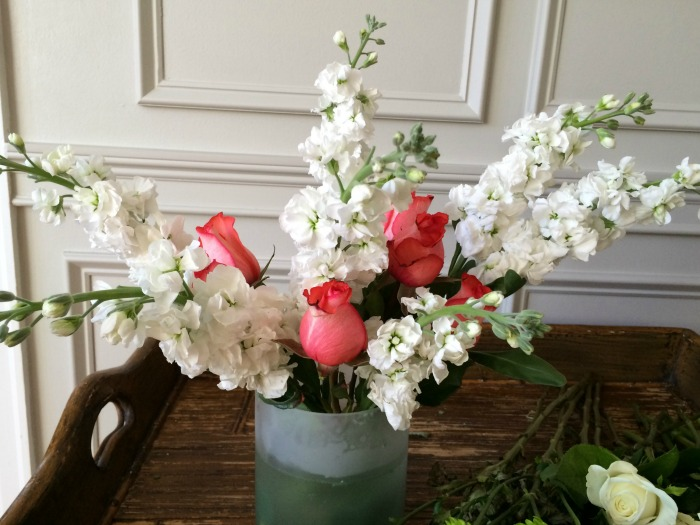 Snap Dragons and Roses