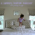 A Summer Bedroom Makeover