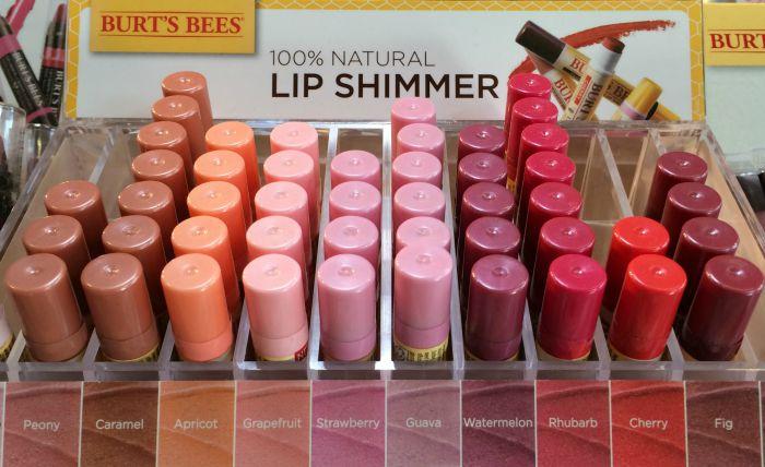 Lip shimmer