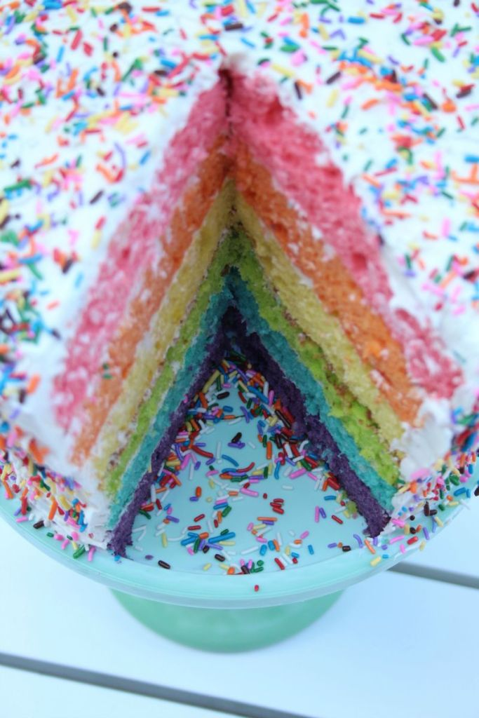 Rainbow Cake photo image