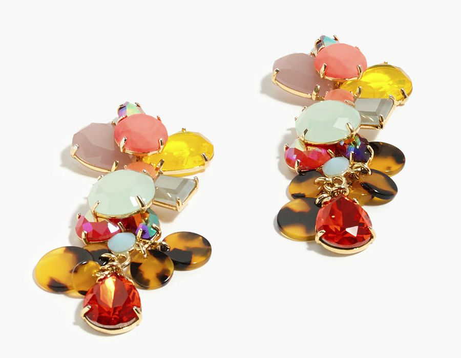 Tort earrings