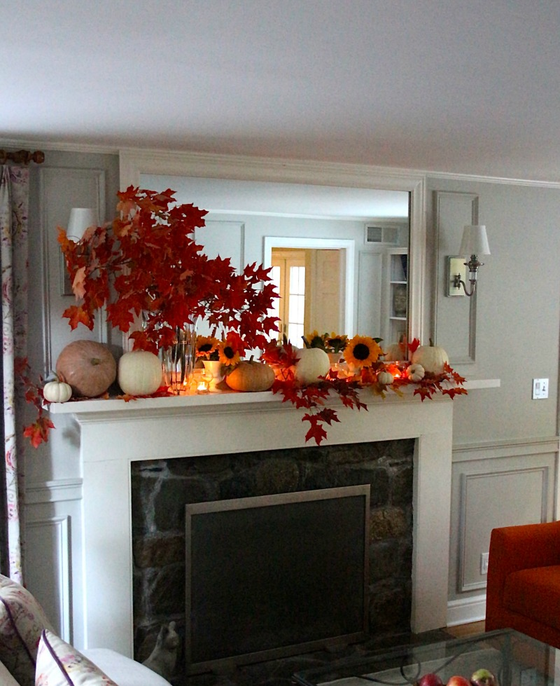Fall Mantle Ideas and Inspiration