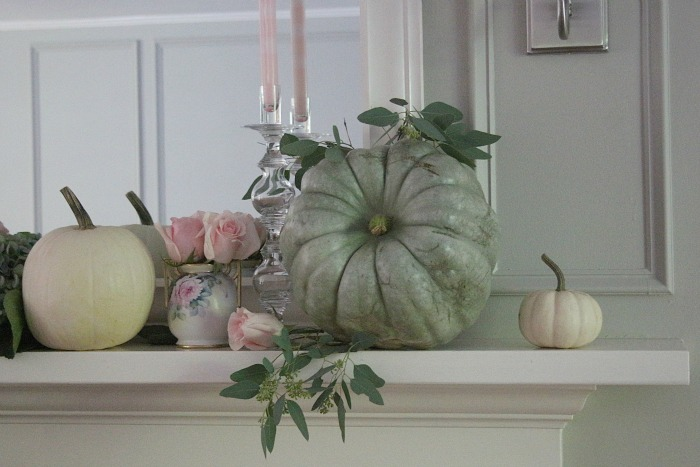 Mantel Ideas with roses