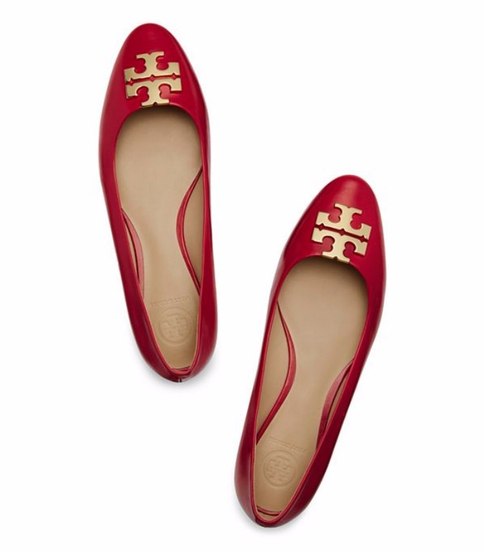 Raleigh Ballet Flat by Tory Burch
