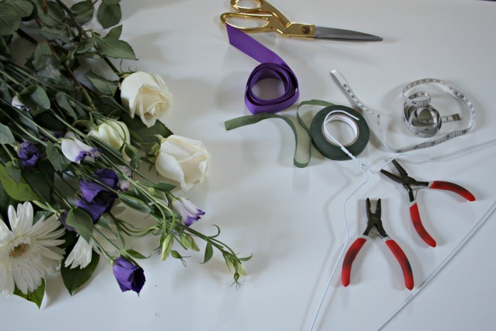 DIY Flower Crown - Connecticut in Style