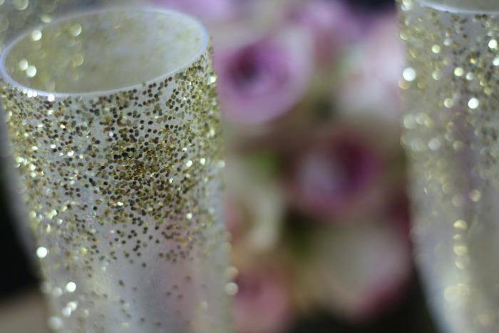 Glitter Glass detail