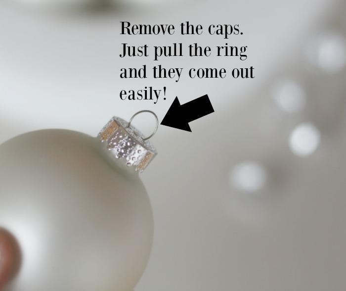Remove the caps