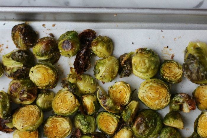 Brussels Sprouts crispy