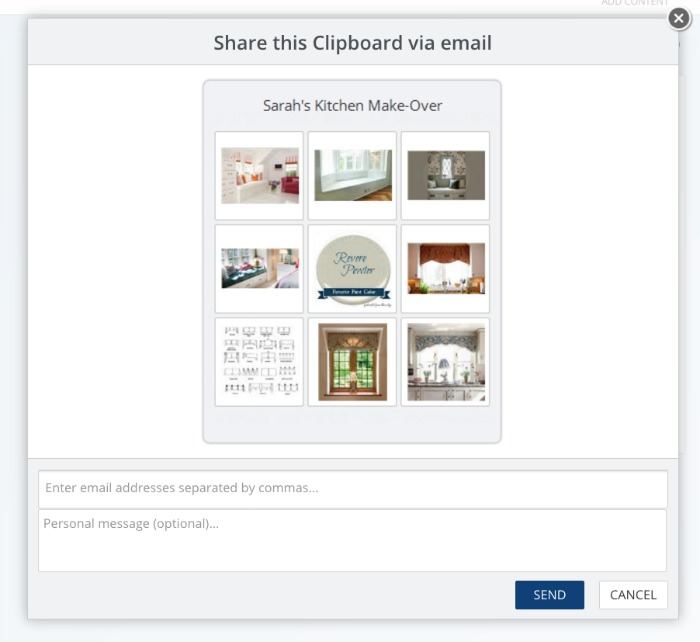 Share Clipboard via email