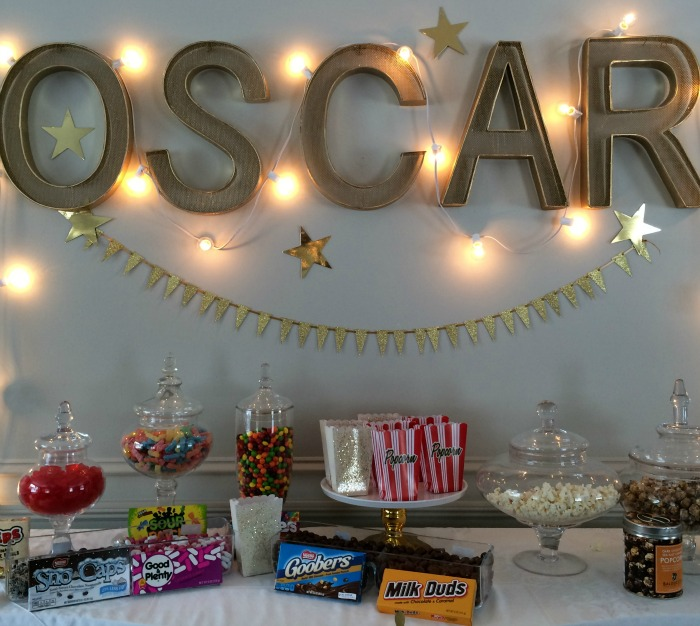 Oscar Letter and Candy Bar