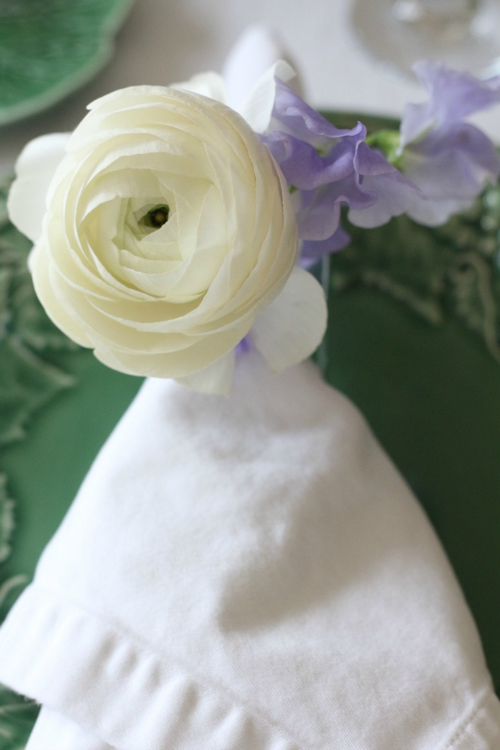Anemone and Sweet Pea
