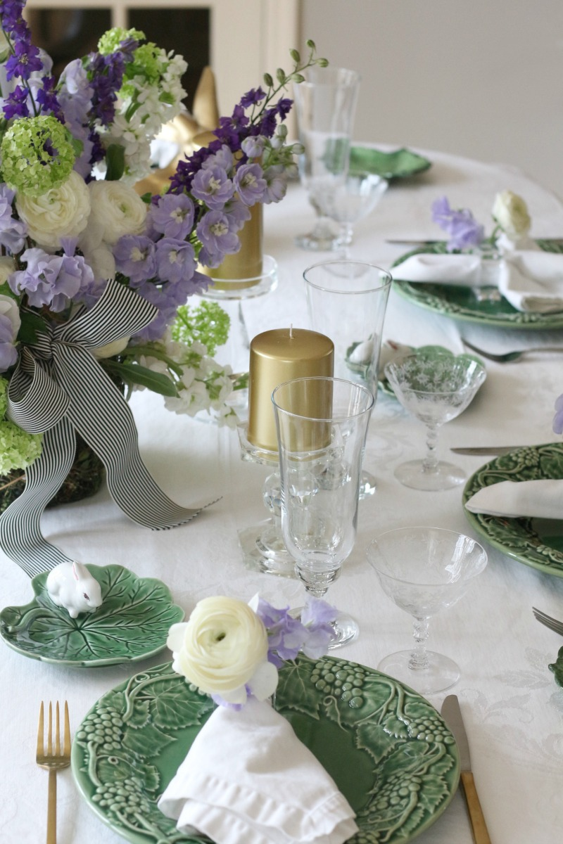 Easter Table Decorating Ideas - Connecticut in Style