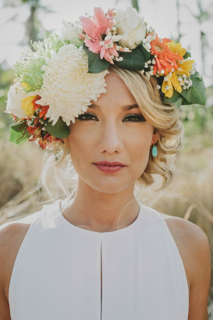 Floral Crown Crush Connecticut In Style