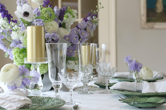 Pretty Easter Tablescape