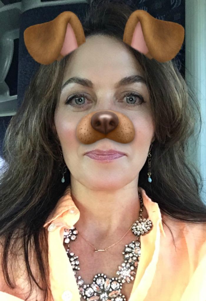 Snapchat puppy